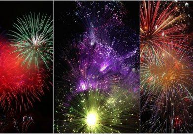 Feu d'artifice à Val-au-Perche le 6 juillet