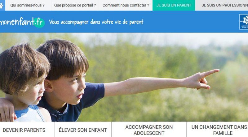 Du nouveau sur monenfant.fr, le site internet pour les parents