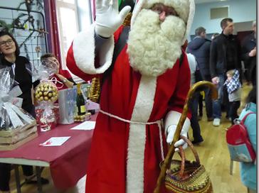 Marché de Noël à Mâle le 8 décembre
