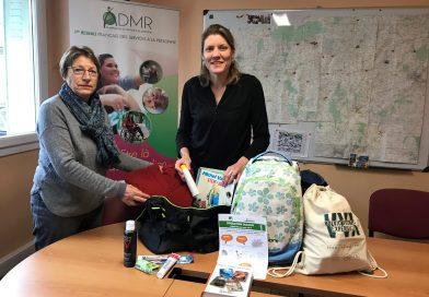 Pour Noël des sacs à dos offerts aux sans-abris de l'Orne avec l'ADMR