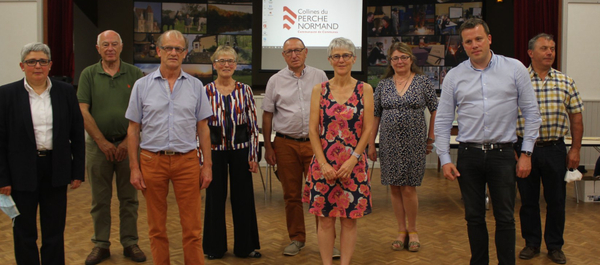Le nouvelle équipe de la Communauté de Communes des Collines du Perche Normand