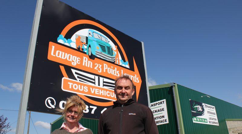 Ouverture d'une station de lavage écologique pour tous véhicules à Val-au-Perche