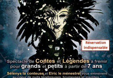 Soirée contes et légendes  le 21 octobre à la médiathèque