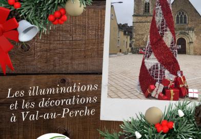 Illuminations et décorations à découvrir à Val-au-Perche jusqu'au 2 janvier